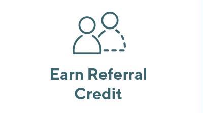 Earn Referral Credit