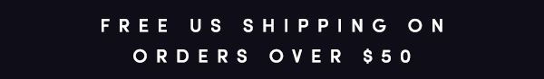 Free US shipping on orders over $50