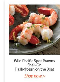 Wild Pacific Spot Prawns