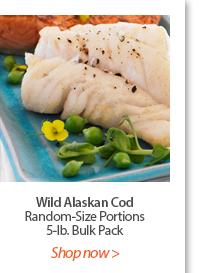 Wild Alaskan Cod