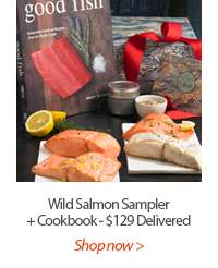 Wild Salmon Sampler + Cookbook