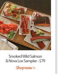 Smoked Wild Salmon & Nova Lox Sampler