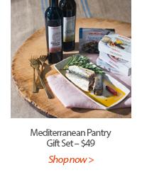 Mediterranean Pantry Gift Set