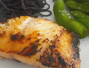 Savory Miso Sablefish (black cod)