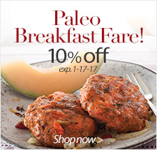 Paleo Breakfast Fare! 10% Off - Shop Now