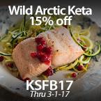 Wild Arctic Keta Salmon - 15% Off