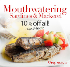 Mouthwatering Sardines & Mackerel 15% Off - Shop now