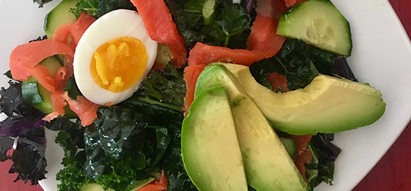 Home Cook: Nova Lox Breakfast Salad