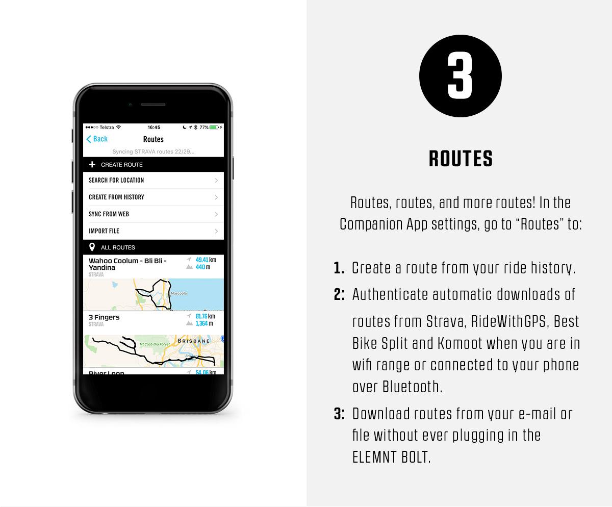 3. Routes