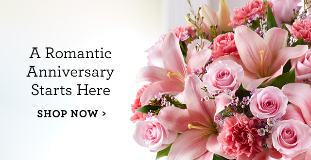 A Romantic Anniversary Starts Here | SHOP NOW