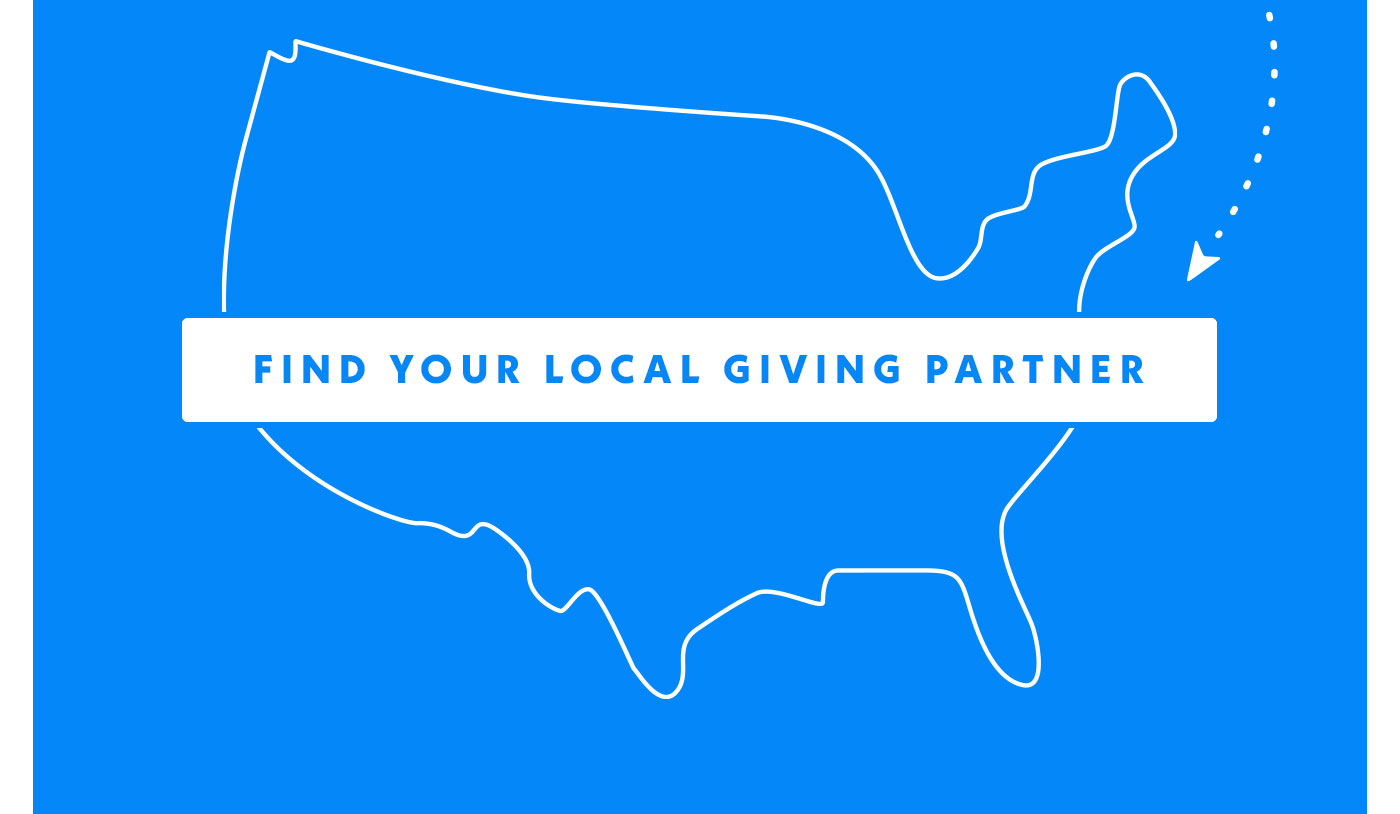Find your local giving partner