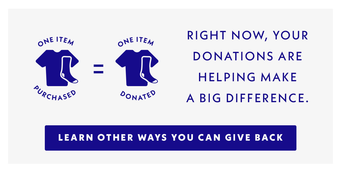 Right now, your donations are helping make a big difference. Learn other ways