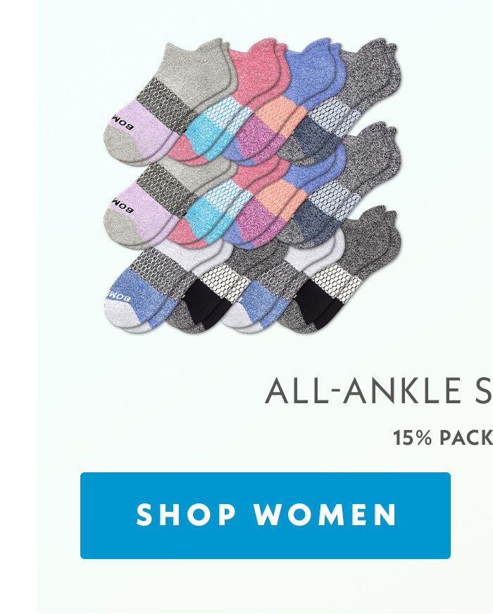 All-Ankle Sock 12-Pack | 15% Pack Savings | Shop Women