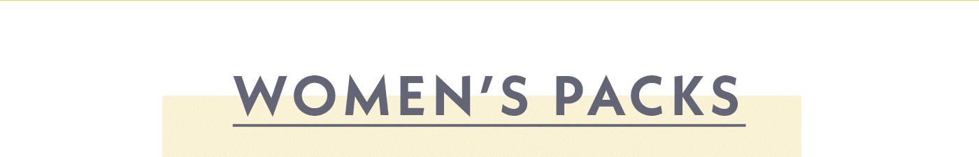 Women's Packs | Shop Women