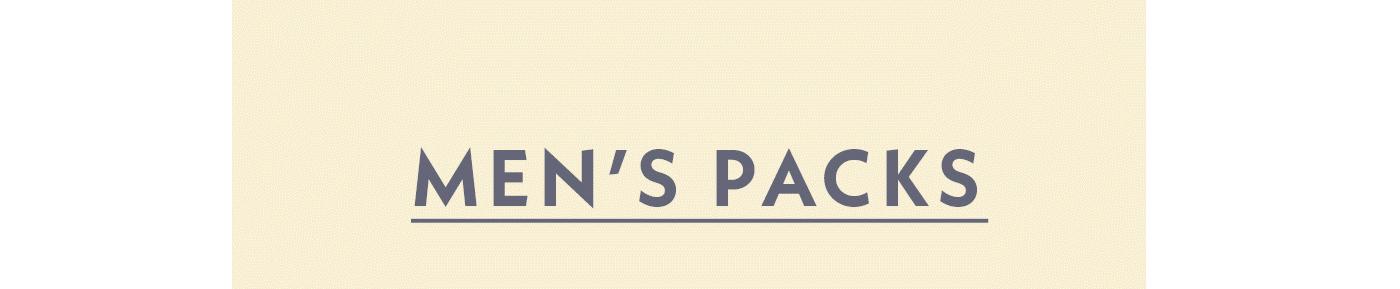 Men's Packs | Shop Men