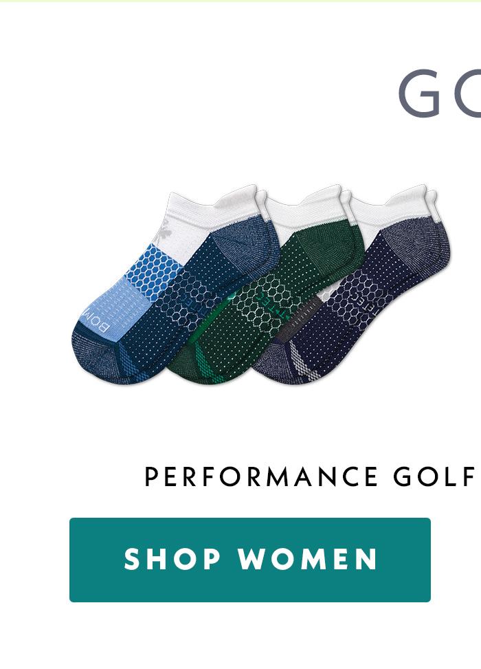 Golf | Performance Golf Ankle Sock 3 Pack | Shop Women