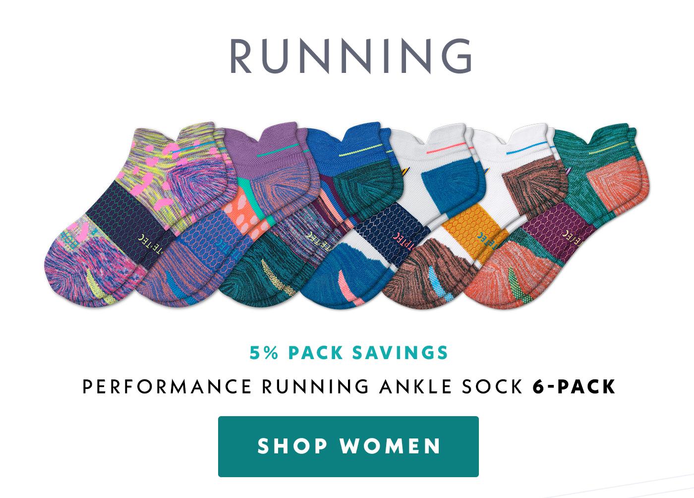 Running | Performance Running Ankle Sock 6 Pack