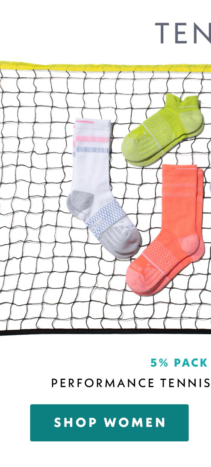 Performance Tennis Calf & Ankle 6 Pack Shop Women
