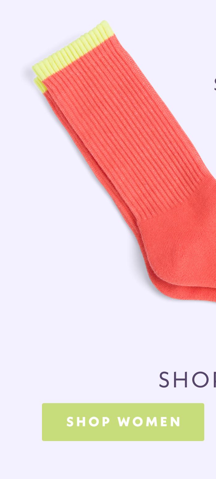 Calf Socks | Specially designed to never slip down. Shop women