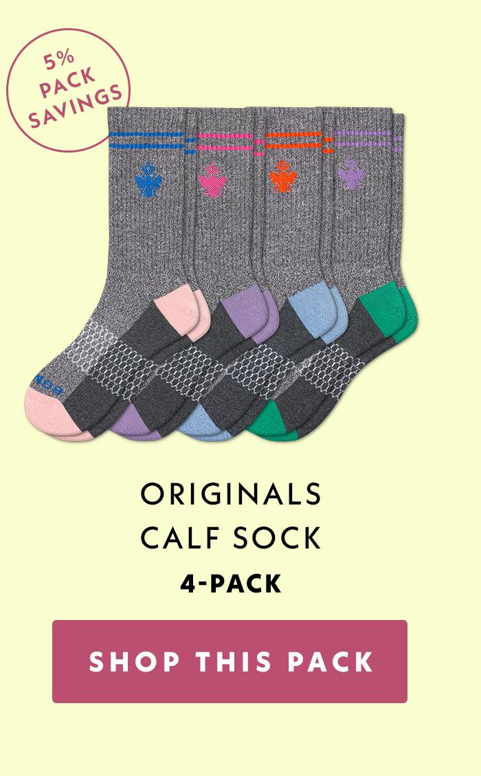 5% Pack Savings | Originals Calf Sock | 4-Pack | Shop This Pack