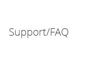 Support/FAQ